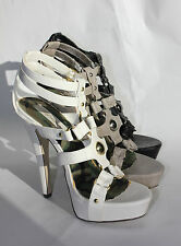 Womens Shoes Platforms Gladiator Ankle Straps High Heels Pumps Stylish Multi
