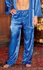 Men's Satin Sleep Pants Pajama Lounge Sleepwear 8802