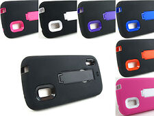 for LG Google Nexus 4 E960+Pry Tool Heavy Duty Dual Layer Hybrid Case Cover New