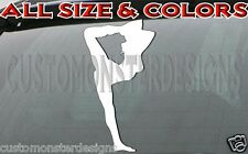 GYMNASTICS decal floor acrobatic artistic gymnast Style5 all size & colors