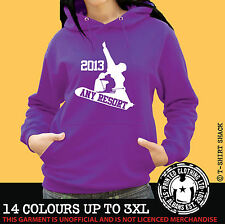 Ski & Snowboard  Any Resort Hoody, Hoodie, Ski Holiday Hooded Sweat (998)