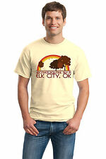 ANOTHER BEAUTIFUL DAY IN ELK CITY, OK Retro Adult Unisex T-shirt. Oklahoma City