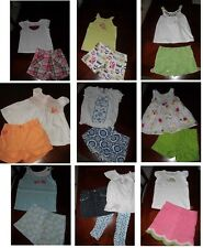 Gymboree summer spring top tee tank shorts outfit set 5t 5 U CHOOSE po EUC