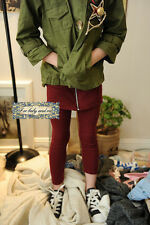 Boutique Stretchable Cotton Fake 2Ps Set-up Pants High Fashion NWT