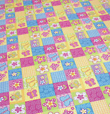 Childrens Carpet Pink butterfly and flower for kids bedroom playroom nursery