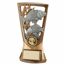 Fishing Trophies Resin Carp and Trout Trophies 7 inch FREE Engraving