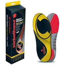 Sorbothane DOUBLE STRIKE Insoles Shock Stopper Comfort Support Foot Orthotic Pad