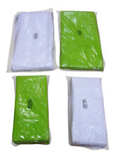 100% Cotton Bath Towel 130cm x 70cm Hand Towel 84cm x 46cm Lime Green White