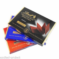 Lindt Specialties Swiss Chocolate - Swiss Thins - Bitter - Milk - Mocca 3x 125 g