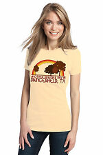 ANOTHER BEAUTIFUL DAY IN DAINGERFIELD, TX Retro Adult Ladies' T-shirt. Texas Ci