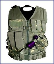 NcSTAR Tactical PVC Vest Military Special Forces Swat **DIGITAL CAMO ACU**