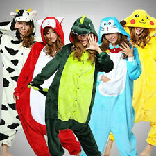 Cute Animal Onesie Hoodie Cosplay Unisex Costume Kigurumi Fancy Pyjama Sleepwear