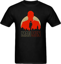 Mad Men T-Shirt  - TV show AMC Don Draper (Men & Women) music t-shirt