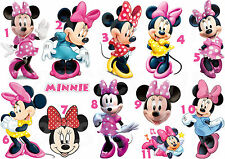 MINNIE MOUSE STICKER AUTOCOLLANT OU TRANSFERT TEXTILE VETEMENT T-SHIRT MICKEY