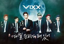 VIXX- 3rd Single Album On and On : CD w/photobook+ POSTER(Option),New,Kpop
