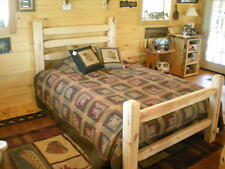 Complete Bedroom Package - TimberCorral Bed with 2 Nightstands - FREE SHIPPING!