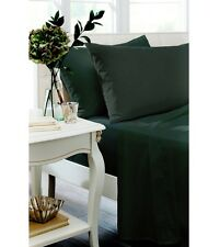 Catherine Lansfield Black Percale Non Iron Sheets And Optional Pillowcases