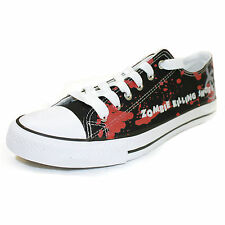 ZOMBIE KILLING SHOES Adult Unisex Sneaker / Shoe for Hunting the Walking Dead