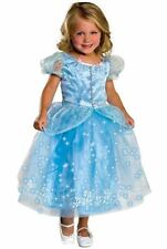 Brand New Classic Cinderella Crystal Princess Toddler/Child Halloween Costume