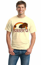 ANOTHER BEAUTIFUL DAY IN CAMERON, WI Retro Adult Unisex T-shirt. Wisconsin City