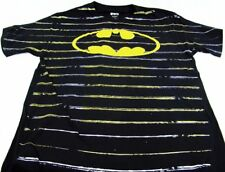 Mens DC Comics Originals Super Hero Batman Logo Short Sleeve T Shirt Size M XL