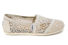 Toms Women's Classic Natural Crochet New In Box Sizes 5-10