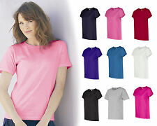 Hanes Ladies ComfortSoft Cotton T-Shirt, in womans sizes S-3XL  (5680)