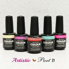 Artistic Nail Design    PART B Colour Gloss Soak Off Gel Colour - SHIP IN 24H