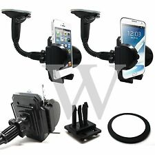 In Car Windscreen Holder Stand + Dashboard + Air Vent For Sony Ericsson Phones