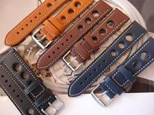 VINTAGE LOOKING RACING GRAND PRIX LEATHER STRAPS FOR YOUR VINTAGE TAG HEUER