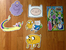 Adventure Time Magnets (Finn, Jake, L.S.P, Raincorn, 10 in 1 Magnet pack) NEW