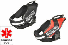 Dogline Alpha Assistance Mobility Dog Harness Removable Chest Plate & Patches