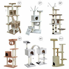 Cat Scratcher Tree Condo House Furniture Post Bed Toys
