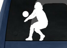 Sport Silhouette - Volley Ball Player Return Serve Ver.1- Car Tablet Vinyl Decal