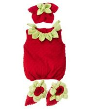 GYMBOREE HALLOWEEN STRAWBERRY COSTUME 6 12 18 24 2T 3T 4T 5T NWT