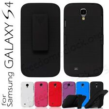 Holster Belt Clip Case Cover For Samsung Galaxy S4 IV i9500 WholeSales Deals
