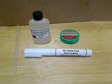 Rework No Clean Flux Kit, inc liquid and flux paste for rework or reflow.