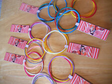 10 sets Wreck It Ralph SUGAR RUSH party favor bracelets Customizable tag