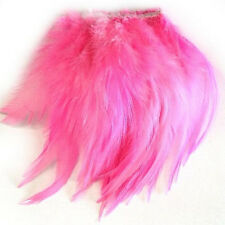 COQUE HACKLE STUNG FEATHERS 10CM - art, craft, millinery, rooster, trimming