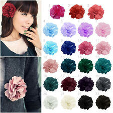 Fashion Lady Woman Peony Flower Hair Clip Hairpin Brooch Wedding Decoration