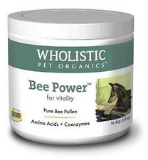 Natural and Organic Dog Supplements Made in USA - Bee Power (Organic Bee Pollen)