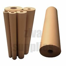 BROWN KRAFT WRAPPING PAPER~600mm Roll~50/100/225m Heavy Duty Strong Parcel