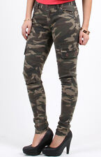 WOMEN'S  CAMOUFLAGE CARGO PANTS( NEW WITH TAG )