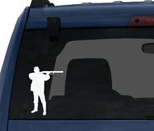 Hunting Rifle Aim #3- Deer Duck Hunt Chasing Tail - Car Tablet Vinyl Decal