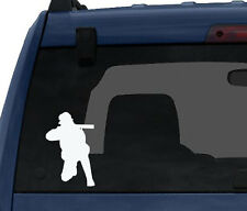 Hunting Rifle Aim #6- Deer Duck Hunt Chasing Tail - Car Tablet Vinyl Decal
