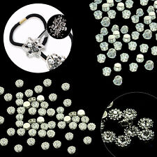 SEW ON Clear Crystal DIAMANTE Rhinestones - AAA* Grade Glass - 3.25mm - 10mm