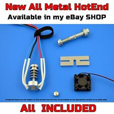 HotEnd Fully Assembled and Wired +FREE Hobbed Bolt RepRap 3D Printer Hot End