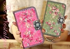 For Samsung Galaxy S4 Cute Lovely Leather Skin Case Cover Card Wallet-Nostalgia