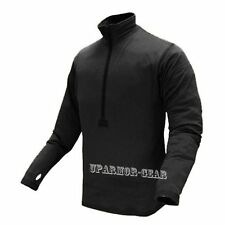 Tactical Base II Zip Thermo Grid Fleece Pullover BLACK (CONDOR #603)