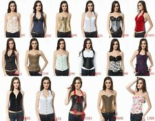2013 New Fashion Corset! Multi color style in overbust and underbust in S~2XL